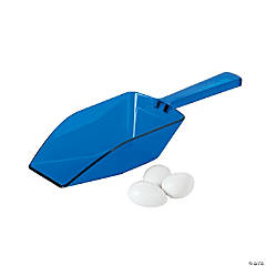 Plastic Blue Candy Scoops