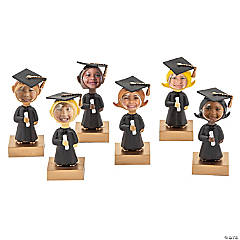Plastic Bobbing Head Graduation Picture Frames