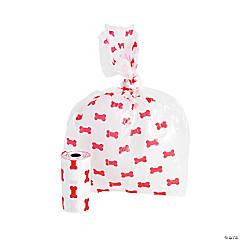 Plastic Bone Print Doggy Doodoo Bags