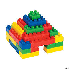 Plastic Building Block Set