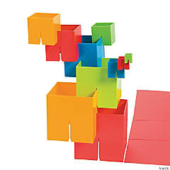 Plastic Building Squares