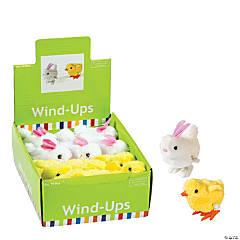 Plastic Bunny & Chick Wind-Ups