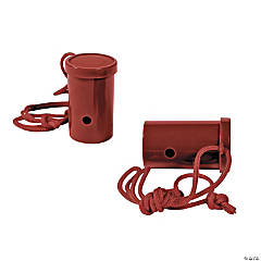 Plastic Burgundy Air Blaster Horns