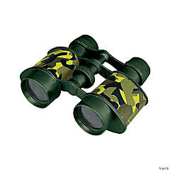 Plastic Camouflage Binoculars