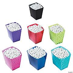 Plastic Candy Buffet Buckets