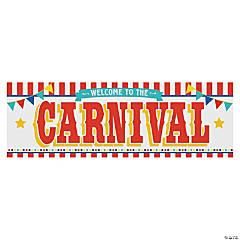 Plastic Carnival Banner