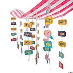 Plastic Carnival Ceiling Decoration