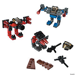 Plastic Character Vehicle Building Block Kits
