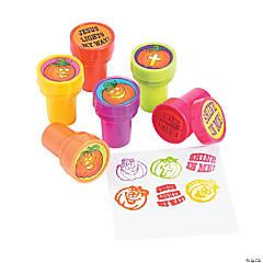 Plastic Christian Pumpkin Stampers