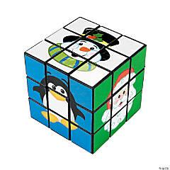 Plastic Christmas Friends Magic Cubes