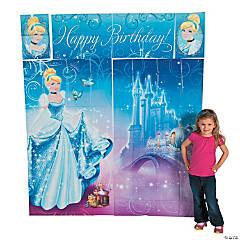 Plastic Cinderella Sparkle Scene Setter™ Wall Decorating Kit