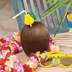 Plastic Coconut Cups