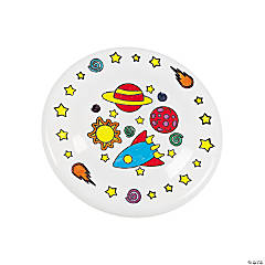 Plastic Color Your Own Cosmic Flying Disks