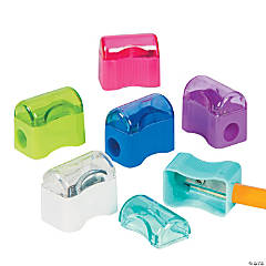 Plastic Colorful Pencil Sharpeners