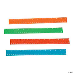 Plastic Colorful Rulers
