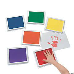 Plastic Cool Classic Giant Color Stamp Pad Set
