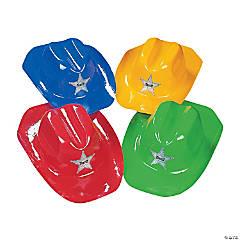Plastic Cowboy Hats