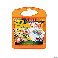 Plastic Crayola® Twistables Colored Pencils & Paper Set