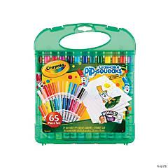 Plastic Crayola® Washable Pip-Squeaks® & Paper Set