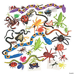 Plastic Creepy Crawly Insect Toy Assortment