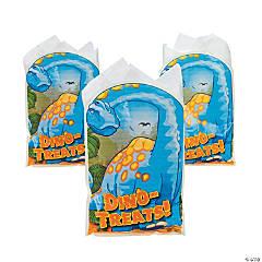 Plastic Dino-Mite Goody Bags