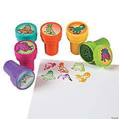 Plastic Dinosaur Stampers