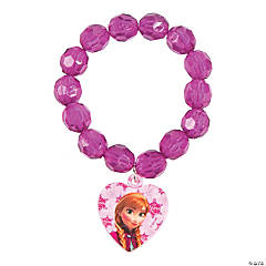 Plastic Disney Frozen Faceted Beaded Bracelet