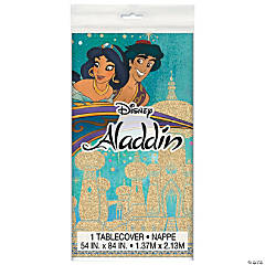 Plastic Disney® Aladdin Tablecloth