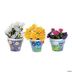 Plastic DIY Flowerpots 48 - Pc.