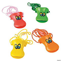 Plastic Duck Beak Whistles