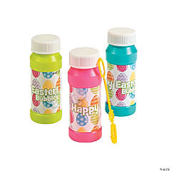Plastic Easter Bubble Bottles