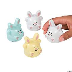Plastic Easter Bunny Pullbacks