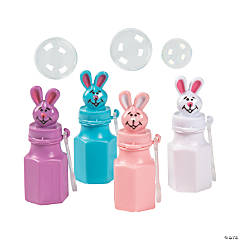 Plastic Easter Character Bubbles