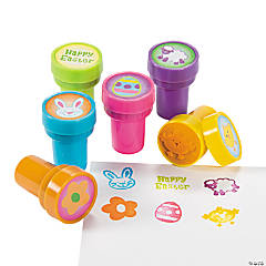 Plastic Easter Stampers