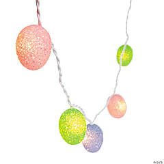 Plastic Egg Light String