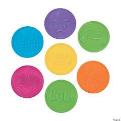 Plastic Emoji Coins