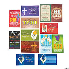 Plastic Faith Wallet Card Assortment