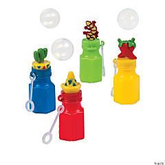 Plastic Fiesta Character Bubble Bottles - 12 Pc.