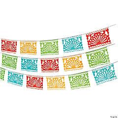 Plastic Fiesta Cutout Garland