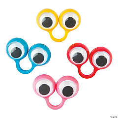 Plastic Finger Eye Rings