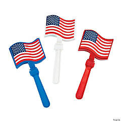 Plastic Flag Clappers
