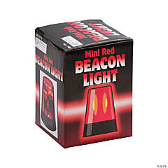 Plastic Flashing Mini Beacon Lights