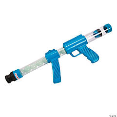 Plastic Glow-in-the-Dark Blue Moon Blaster Gun