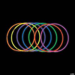 Plastic Glow Necklace Assortment