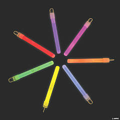 Plastic Glow Stick Assortment