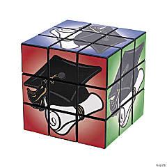 Plastic Graduation Magic Cubes