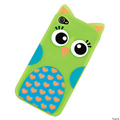 Plastic Green Owl iPhone® 4/4S Case