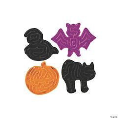 Plastic Halloween Maze Puzzles
