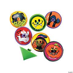 Plastic Halloween Spin Tops