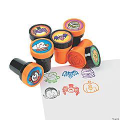 Plastic Halloween Stampers